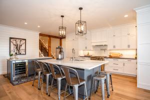 Light and Bright Kitchen & Living Room & Master Bath